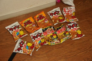 Baby Star Ramen snacks
