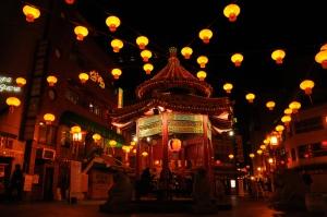 Pagoda in Kobe's Chinatown