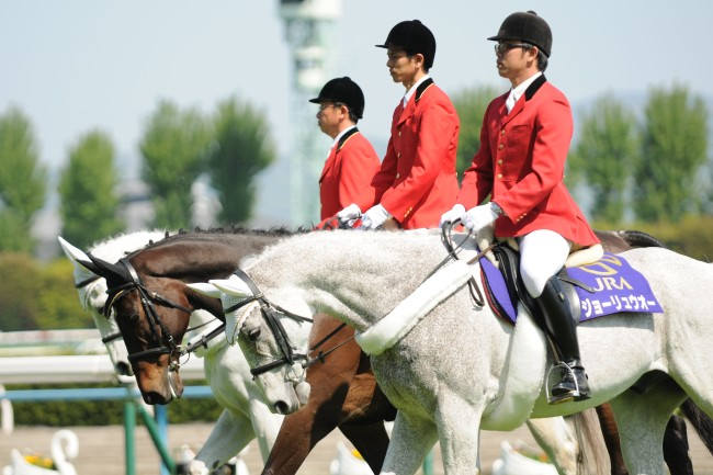 Japanese clerks of the course