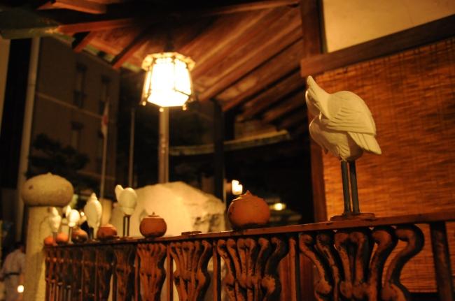 Herons at Dogo Onsen