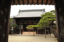 Temple in the backstreets of Matsusaka.