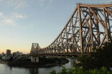 The Story Bridge was designed by the same architect who built the Sydney Harbour Bridge.