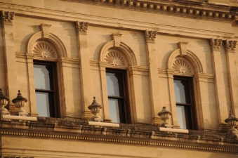 Detail on the Treasury Building which houses Treasury Casion these days..