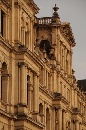 The Treasury Building.