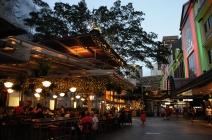 The Queen Street Mall.