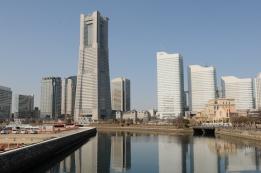 Minatomirai skyline.