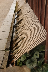 Old style guttering.