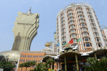 The Grand Lisboa Casino.