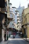 Macau's backstreets.