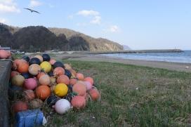 Seaside halfway to Hakodate.