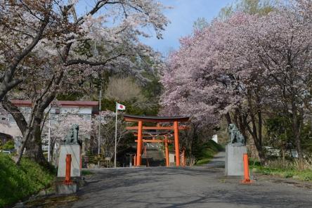 Small shrine near Toyako.