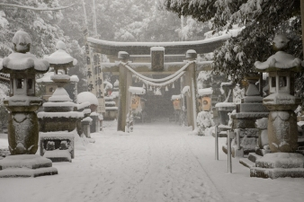 Shinto shrine.