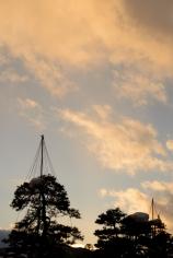 Sunset in Takayama.