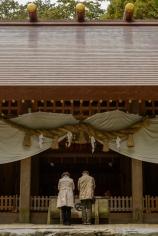 Main shrine building.