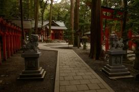 Sub shrine.