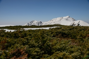 The mountains of the Tateyama National Park.