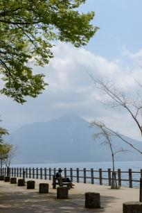 Lake Shikotsu, near Sapporo.