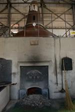 A coal-fired still, Nikka Distillery, Hokkaido, Japan.