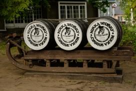 Old style whisky sled, Nikka Distillery, Hokkaido, Japan.
