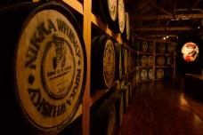 The Whiskey Museum, Nikka Distillery, Hokkaido, Japan.