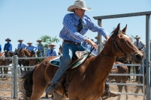 Individual Campdraft Competition, RM Williams Muster