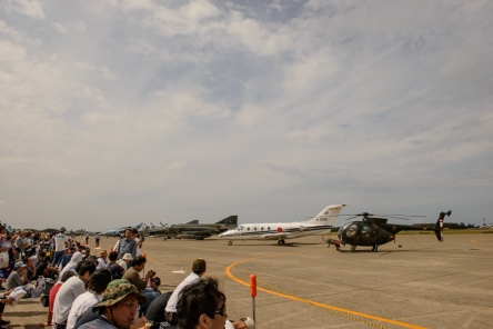 The line up on the tarmac.